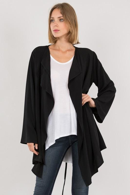 Tuesday Morning Multi-Way Jacket - Tops - Affordable Boutique Fashion