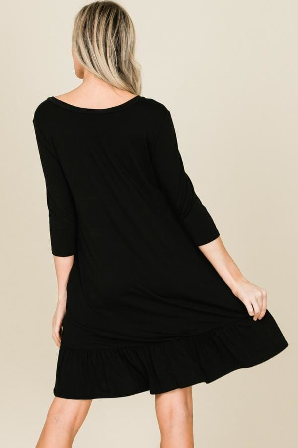 Undercover Mama Swing Dress | Nursing Friendly - Dresses - Affordable Boutique Fashion