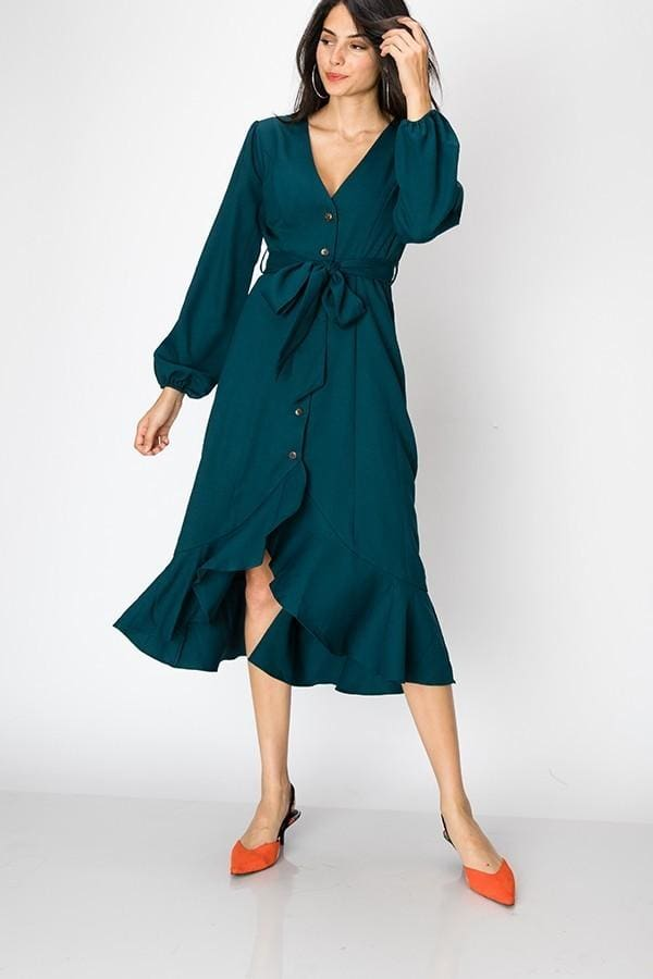Upper East Side Dress | Jade - DRESSES - Affordable Boutique Fashion