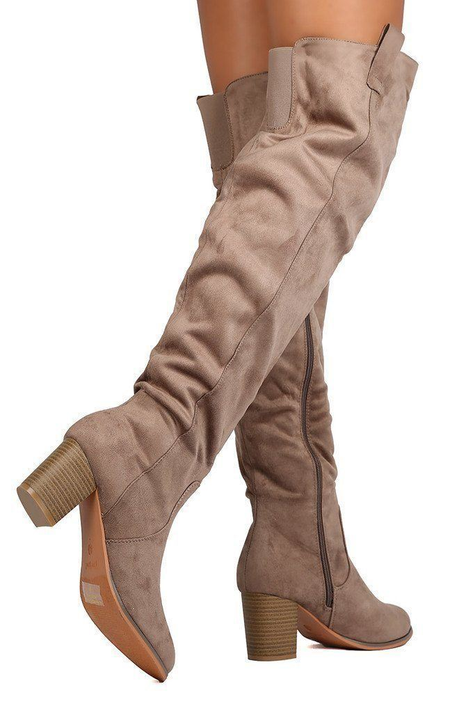 Venice Over The Knee Boots - SALE - Affordable Boutique Fashion