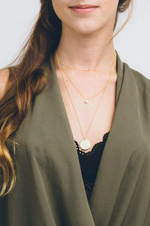 Voyage Layered Necklace - Tops - Affordable Boutique Fashion