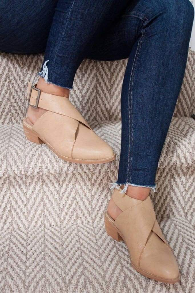 Wrap Buckle Flats -  - Affordable Boutique Fashion