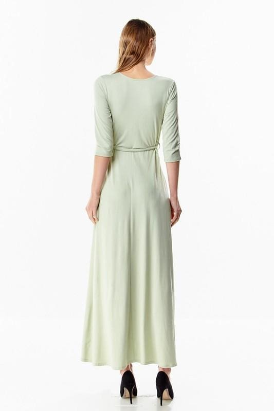 Wren Perfect Wrap Maxi Dress - DRESSES - Affordable Boutique Fashion