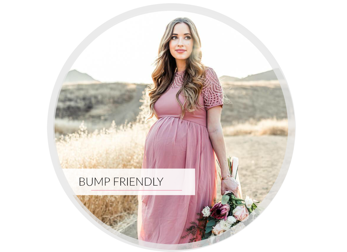 Bump Friendly Dresses and styles