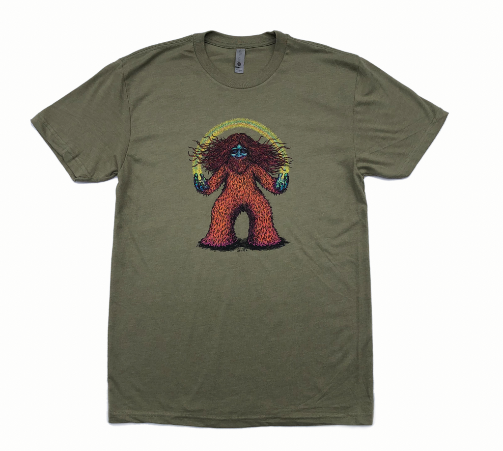 Squatchy Vibes Olive Shirt