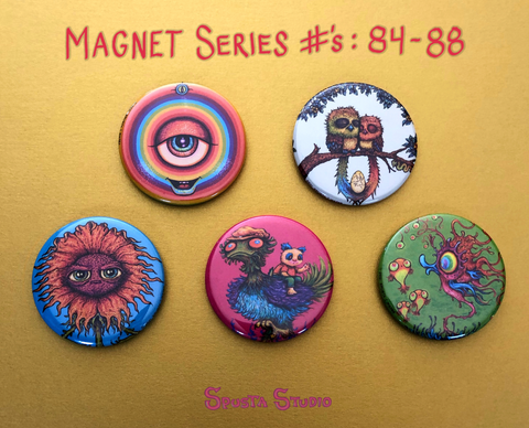 Five New Magnet Series #84-88