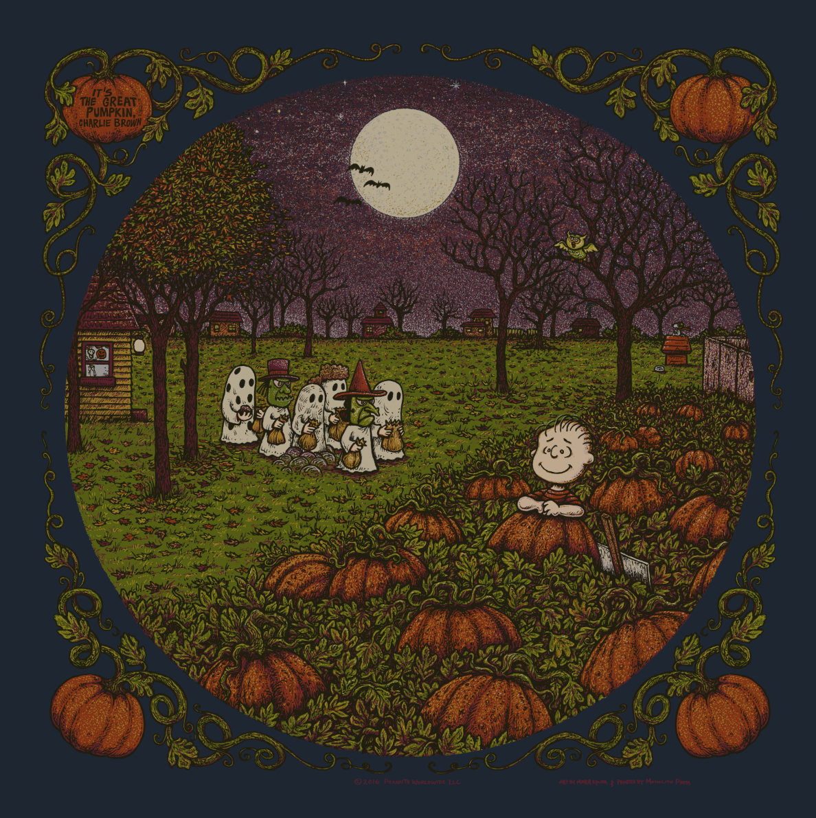 It's The Great Pumpkin Charlie Brown Quotes It's The Great Pumpkin Charlie Brown  Spusta Studio Shop