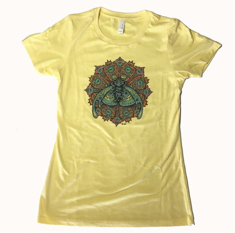 Bliss Bug Ladies Yellow Shirt