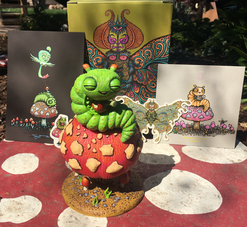 Baby Blissed Out Bug Statue Package