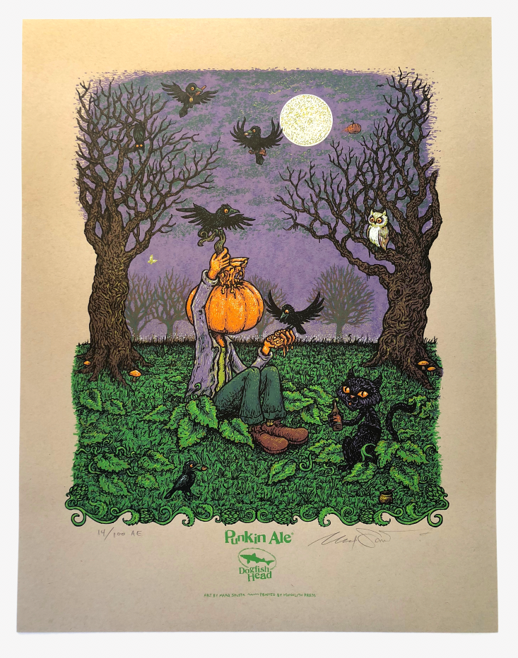 Punkin Ale Poster - Artist Edition on Kraft