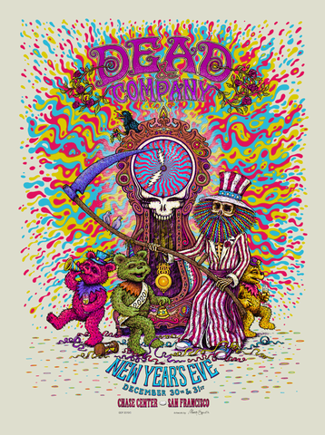 Dead & Company New Year's Eve San Francisco Poster