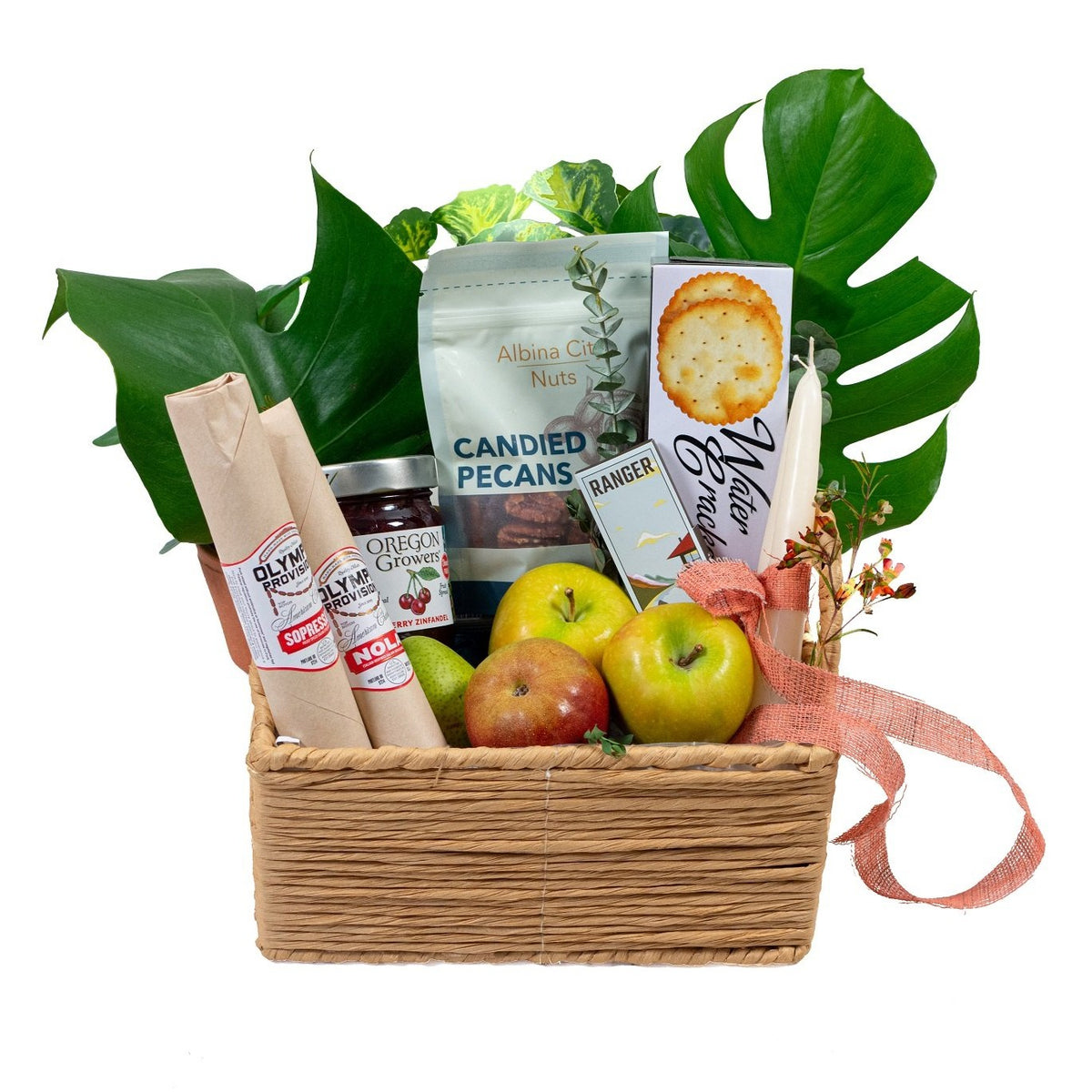 Mini Harvest Gift Basket  (local delivery only)