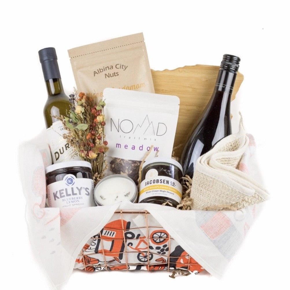 Culinary Delight Gift Basket