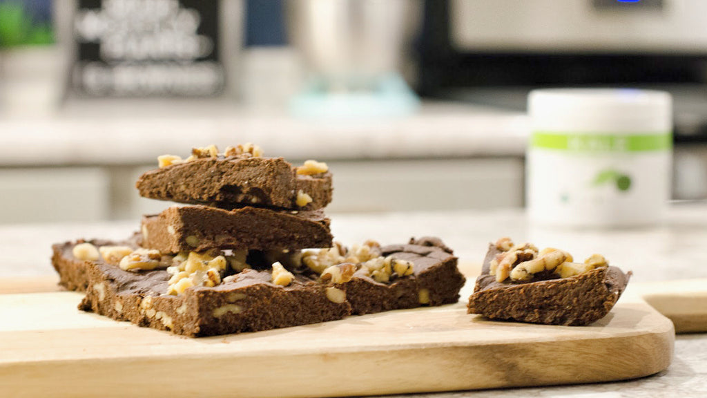 Vegan Gluten Free KALE Brownies
