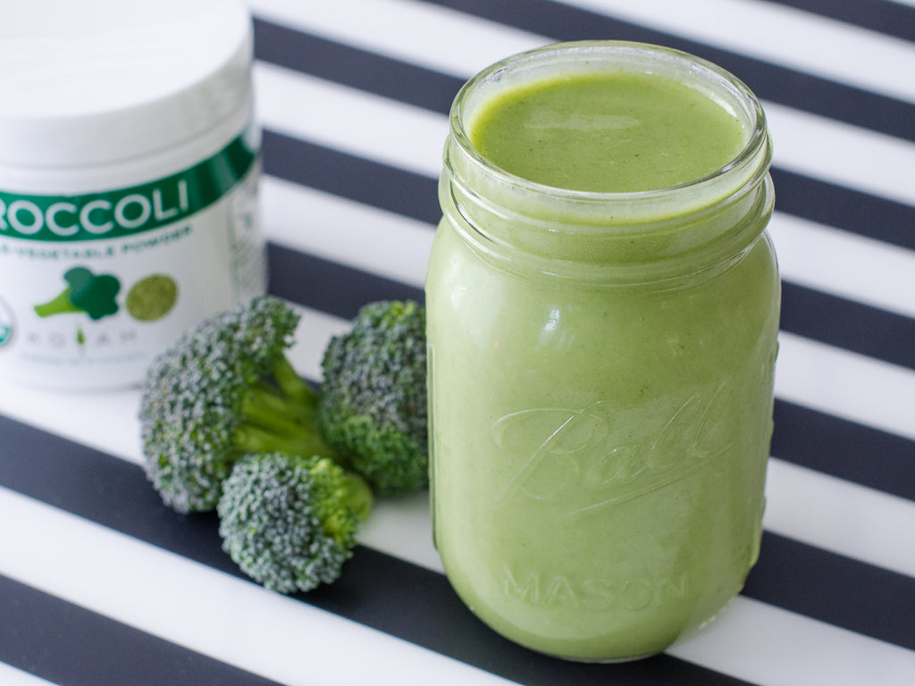 Simple broccoli smoothie