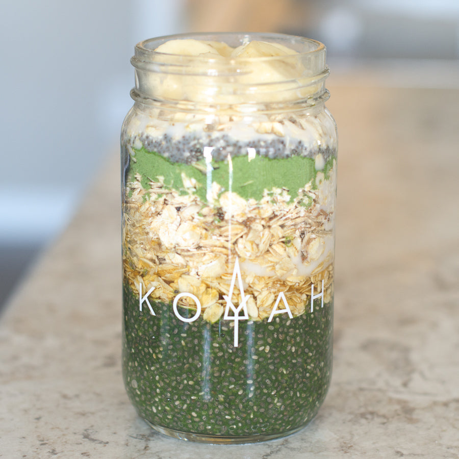 Kale yeah for overnight oats!