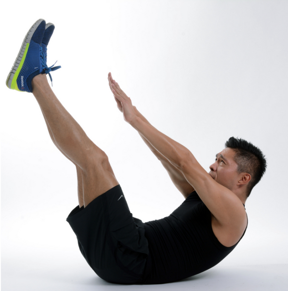 7 core exercises that you can do anywhere.