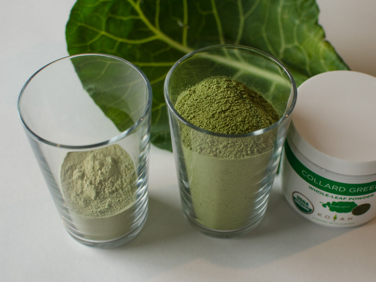 KOYAH Collard Greens Powder vs competitors