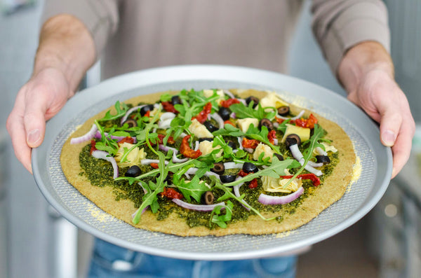 Vegan Kale Pesto for Pizza Sauce