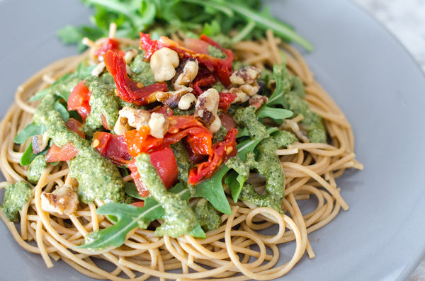 Vegan Kale Pesto for Pasta