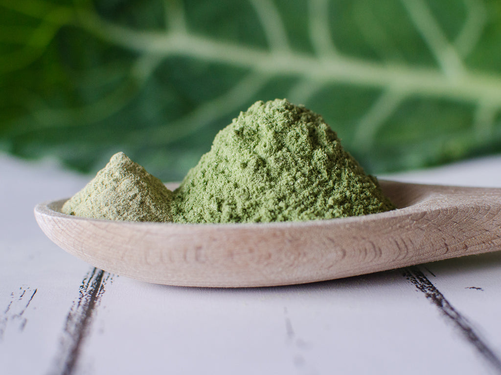 KOYAH Organic Collard Greens Powder vs Competitors