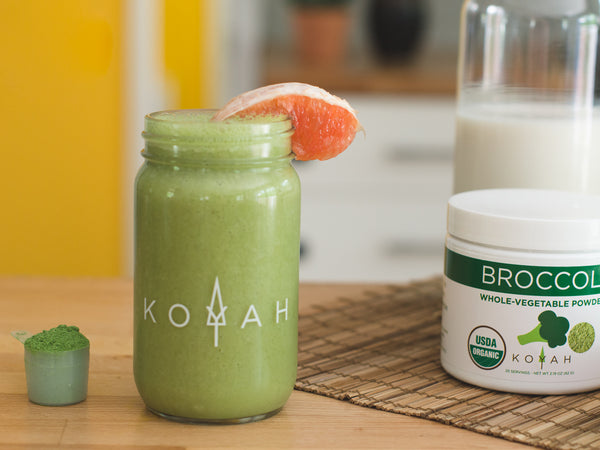 Broccoli Grapefruit Detox Smoothie