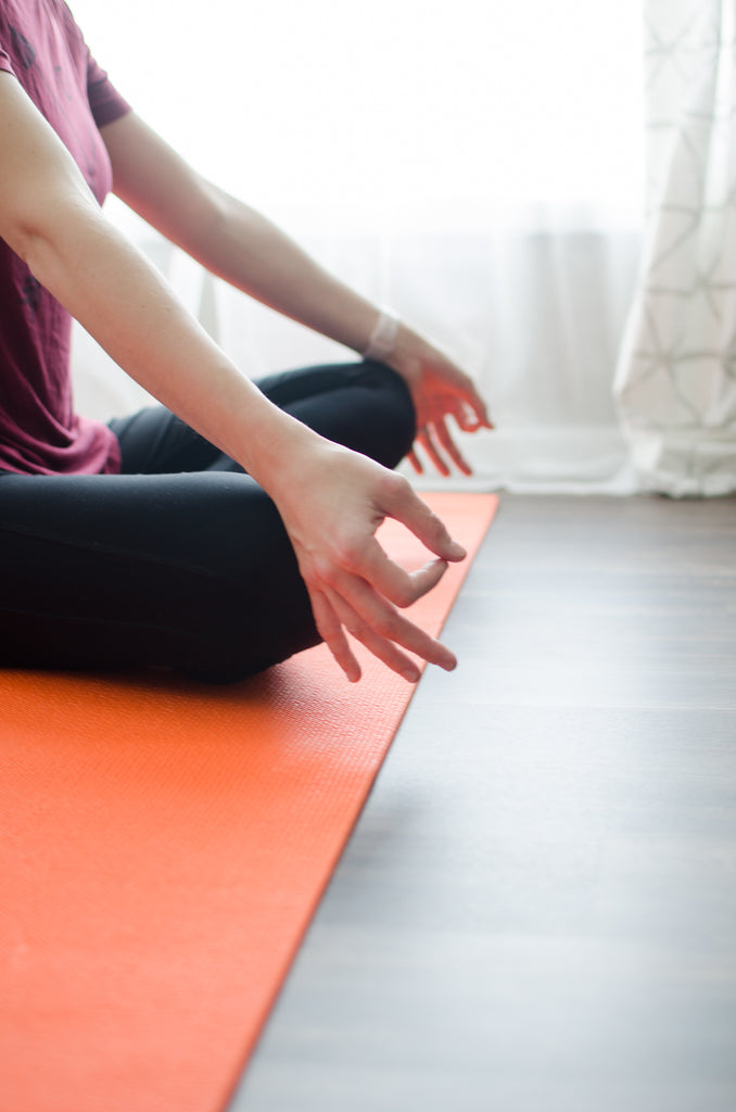 practice yoga or meditation to start your day off right
