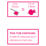 Organic Beet Powder - USA Grown & Freeze-dried