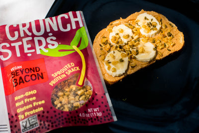 Peanut Butter-Banana-Crunchsters Toast