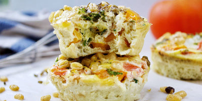 Veggie + Beyond Bacon Egg Cups