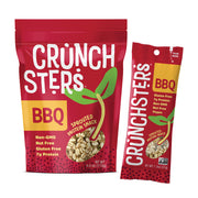 Crunchster's BBQ: 4 ounce and 1.3 ounce: Sprouted Protein Snack