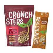 Crunchster's Beyond Bacon: 4 ounce and 1.3 ounce: Sprouted Protein Snack