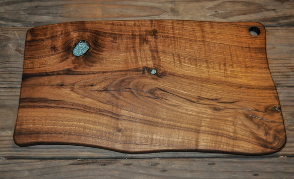 158. Black Walnut Wood Cutting Board