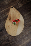 142. Teardrop Shape, Pecan Wood Serving Board