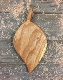 Leaf Shaped Serving Board