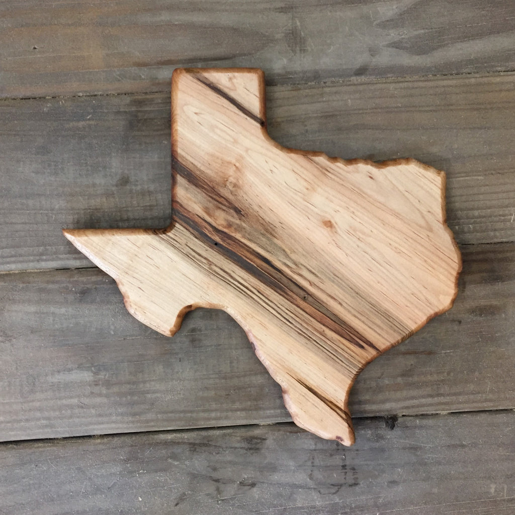 321. Medium Texas Shaped, Ambrosia Maple Cutting Board