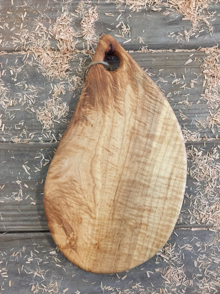 Teardrop Shaped Cutting/Serving Board