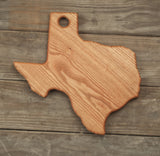 Large Texas Cutting Board