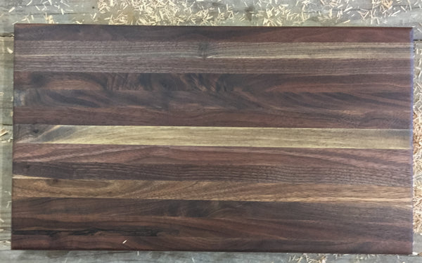 386. Large Walnut Butcher Block