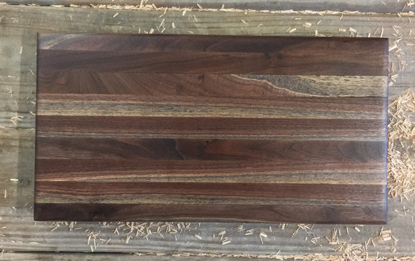 387.  Walnut Butcher Block