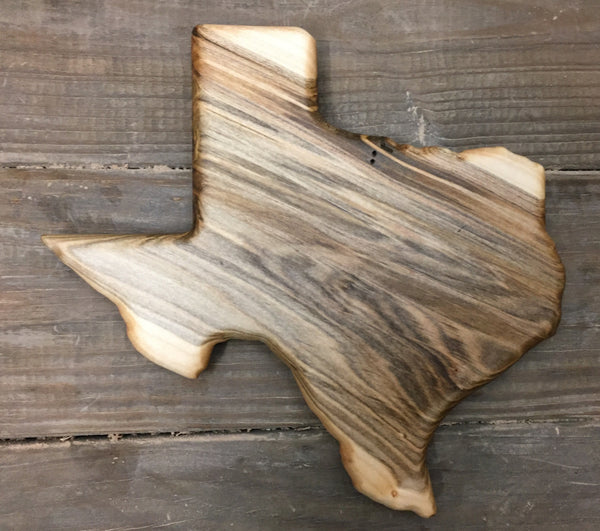 255. Small Texas Serving Boards