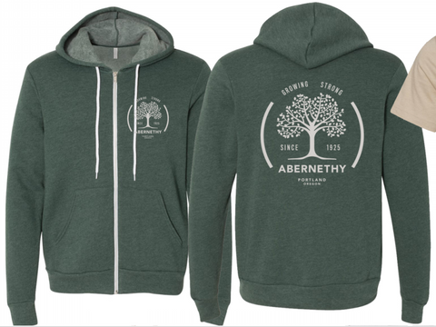 Adult Unisex Hoodie - Forest Green Heather