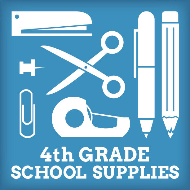 4th and 3/4th Blended Grade School Supplies