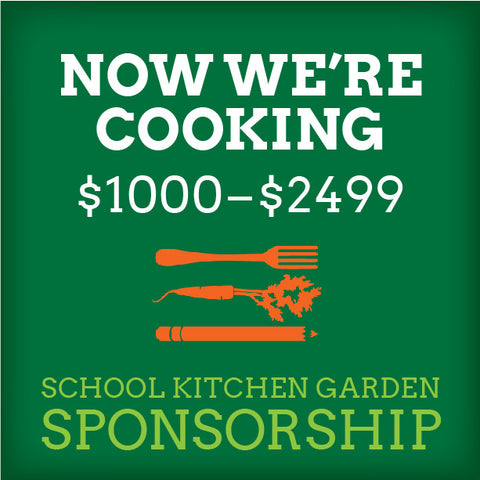 School Kitchen Garden Sponsor – Now We're Cooking