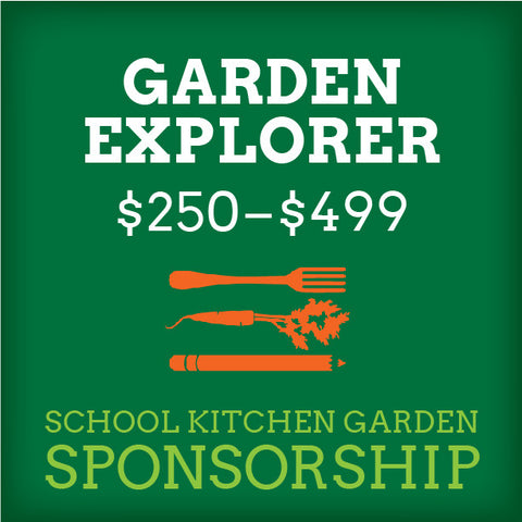 School Kitchen Garden Sponsor – Garden Explorer