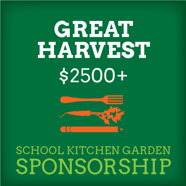 School Kitchen Garden Sponsor – Great Harvest