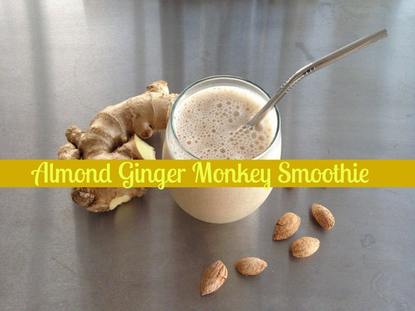 The Almond Ginger Monkey Smoothie That'll Make You a Breakfast Devotee
