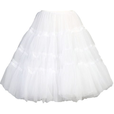 Half Petticoat with 3 Layers Soft Bouffant Nylon Girls (PC003)