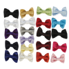 Poly Silk Clip on Bow Tie in Choice from 21 Colors (Boys 2T - 12)
