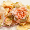 PEACH Flower Petal Set